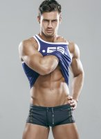 handsome model Kirill Dowidoff