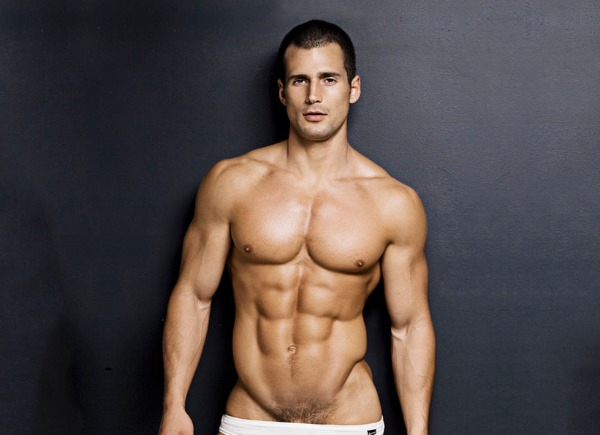 Male model Todd Sanfield DNA Magazine 130 december 2010
