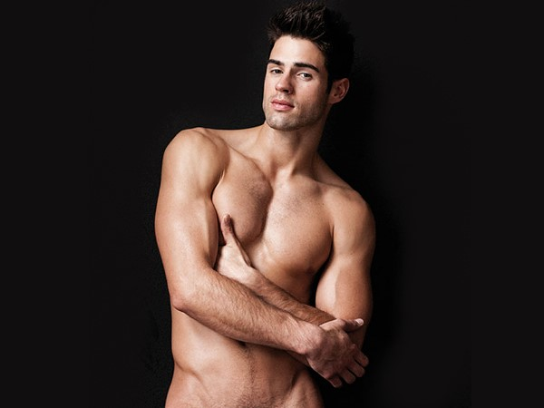 Male model Chad White photography by Gregory Vaughan