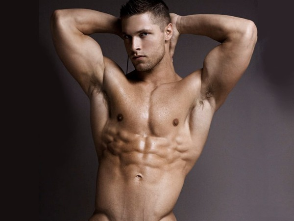 male model brock yuric photographed by rick day