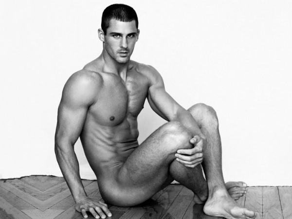 male model derek richardson by greg vaughan