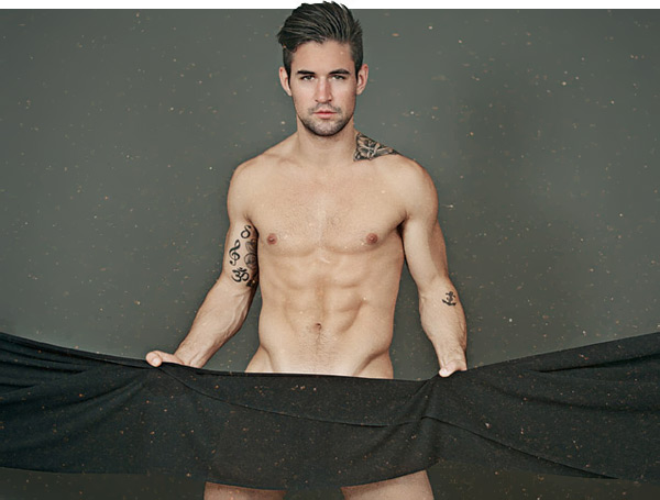 male model Benjamin Godfre by Gabriel Gastelum