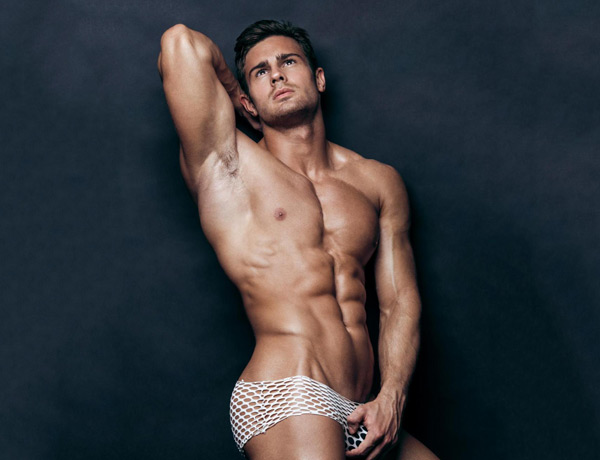 male model Kirill Dowidoff