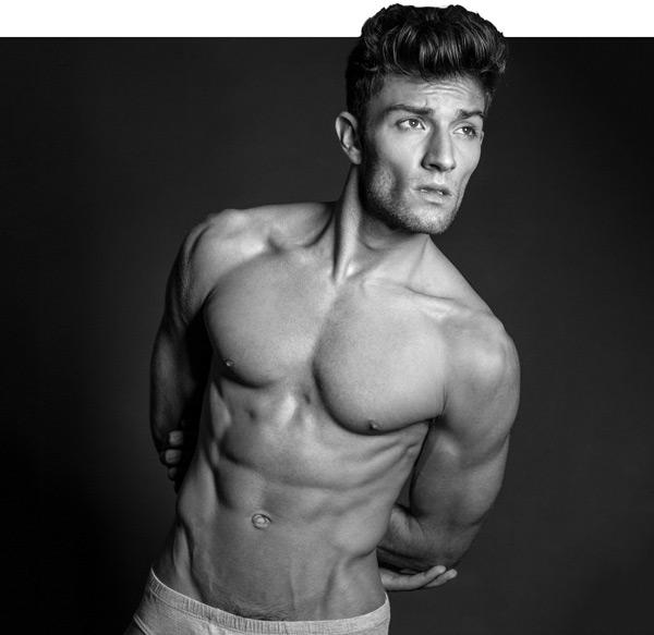 Male model Jared North