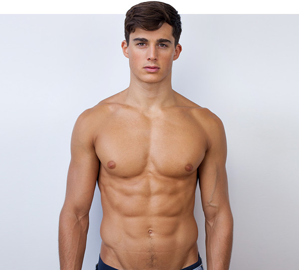 Male model Pietro Boselli
