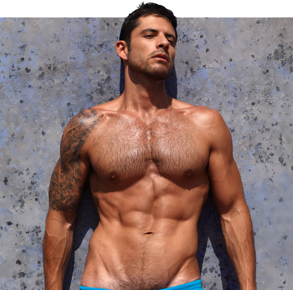 Colombian male model actor Diego Arnary
