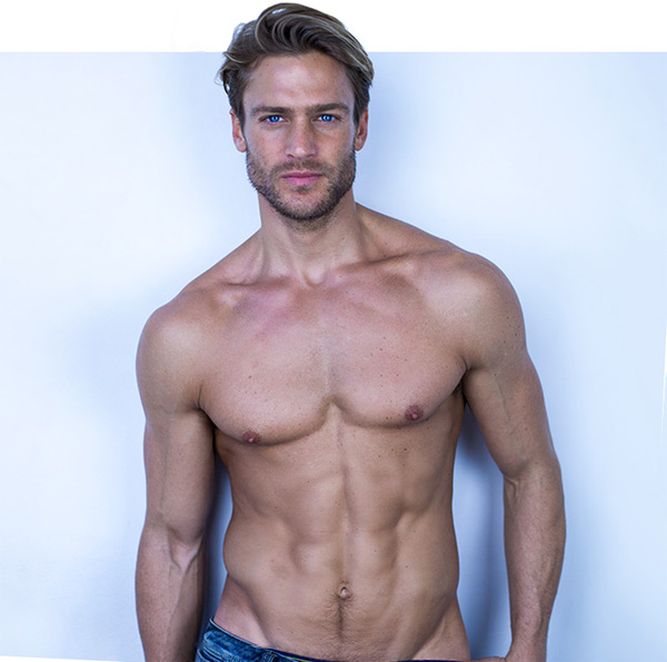 american male model Jason Morgan