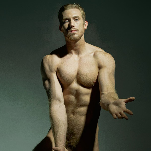 male model kevin selby by david vance
